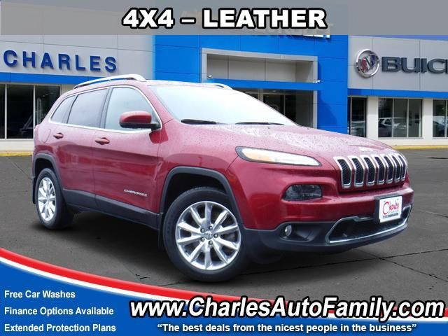 Pre Owned 2016 Jeep Cherokee 4wd 4dr Limited