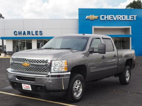 Pre-Owned 2013 Chevrolet Silverado 2500HD LT Crew Cab