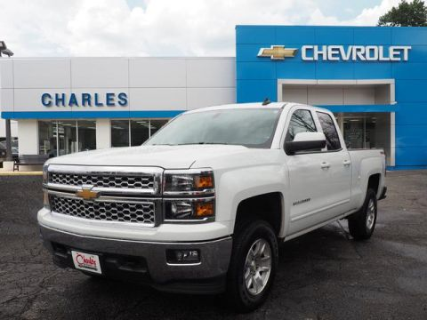 Pre-Owned 2015 Chevrolet Silverado 1500 Double Cab